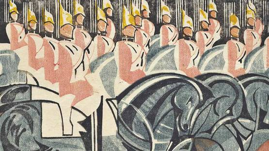 William Greengrass - The King's Horses, 1931 (detail)