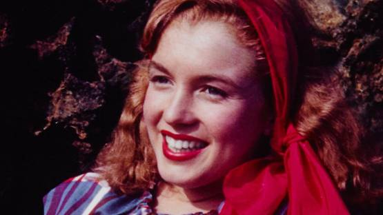 William J Carroll - A Day at Castle Rock with Norma Jeane Dougherty - Image via mutualart