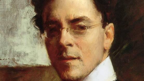 William Merritt Chase - Portrait of Louis Betts (detail) - image via wikiartorg