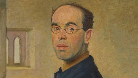 William Rothenstein - Self Portrait (detail)