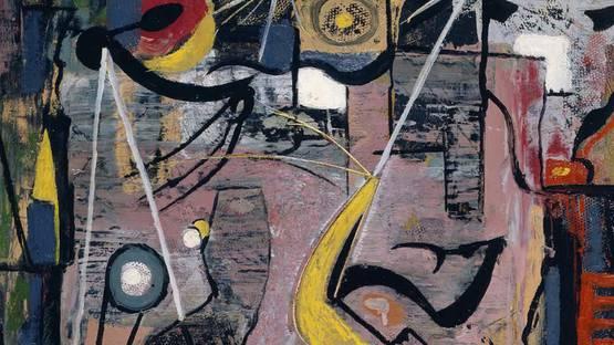 Willy Boers - Dwalend verlangen, 1948 - Image via otherart