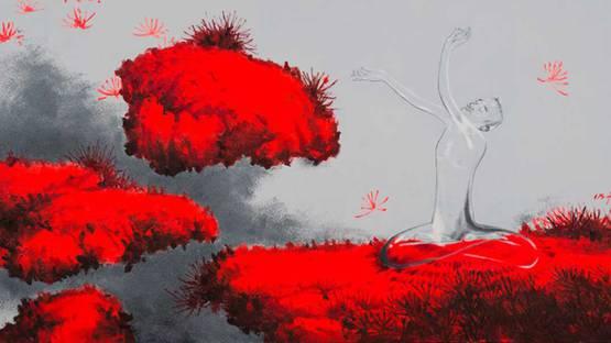 Wu Mingzhong - Between Heaven and Earth No.2 (Detail), 2013 - Photo Credits: Artist
