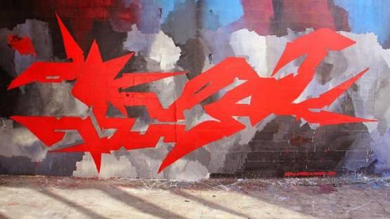 Wxyz street art, image via Editions Terrain Vague
