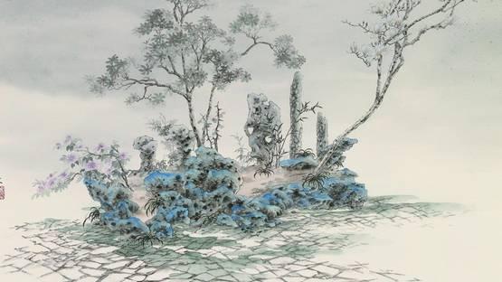 Yao Yuan - Langyuan Wonderland (detail), The Garden Series, 2011, photo via pek-arts