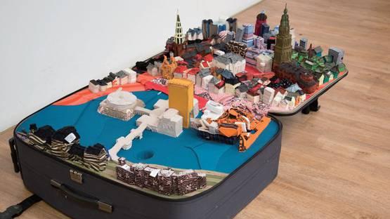 Yin Xiuzhen - Portable City of Groningen, 2011, photo via Art Rocks