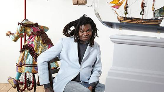 Yinka Shonibare - photo credit The Guardian