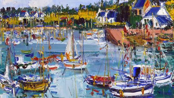 Yolande Ardissone - Nature s Harbor (detail)