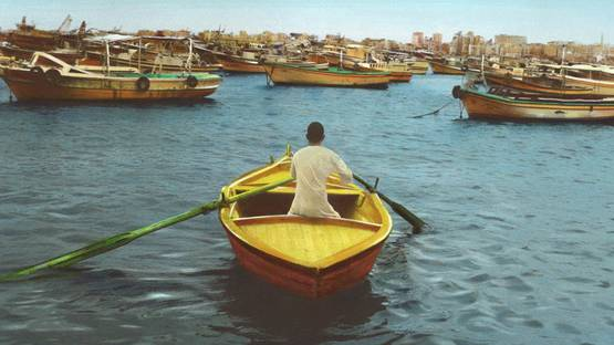 Youssef Nabil - Say goodbye, Self Portrait, Alexandria 2009 (detail)