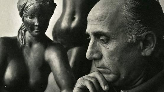 Yousuf Karsh - Emilio Greco portrait, 1970
