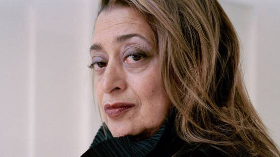 Zaha Hadid - portrait. Photo credits Peter Marlow - Magnum