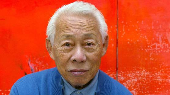 Zao Wou-Ki - Photo of the artist - Image via independentcomuk