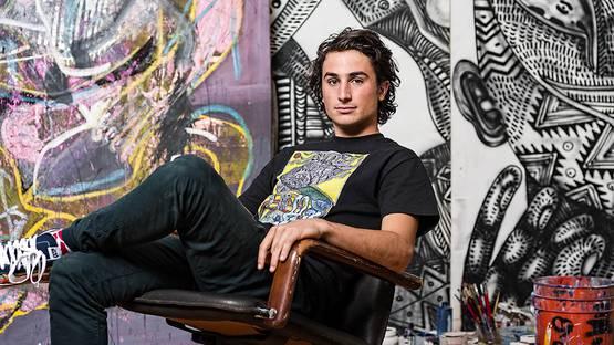 Zio Ziegler's Portrait - image via 3amnet