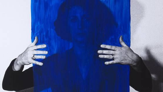helena almeida's portrait - image via performa-artsorg