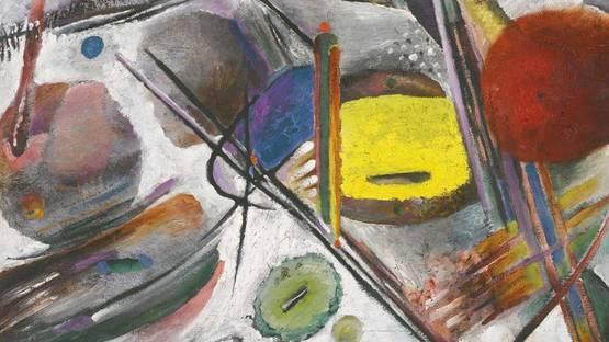 rudolf bauer - untitled, detail