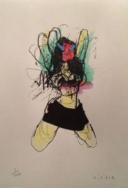 Anthony Lister - Mini Skirt Dancer