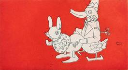 Anthony Lister - Wind Up Rabbit Rooter, 2007