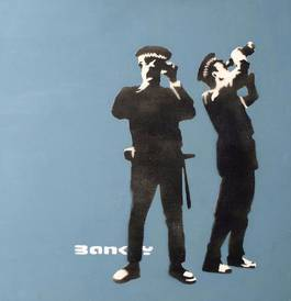 Banksy - Avon and Somerset Constabulary, 2000
