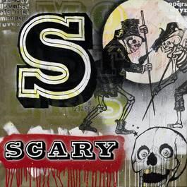 Ben Eine - S Iz for Scary