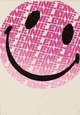 Ben Eine - Smiley