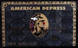 D Face - American Depress - Black and Gold, 2012