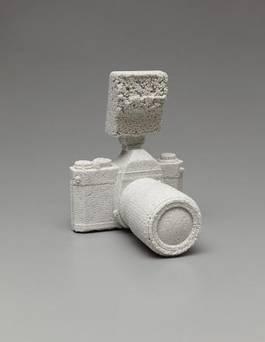 Daniel Arsham - Pentax K100 reformed in ceramics