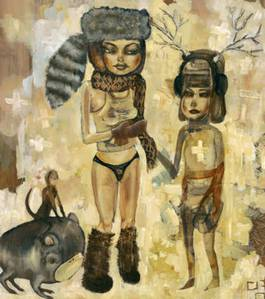 David Choe - Pull My Scarf, 2004