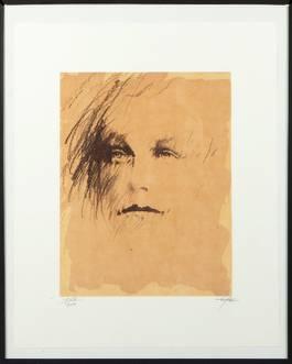 Ernest Pignon-Ernest - Arthur Rimbaud, 1986
