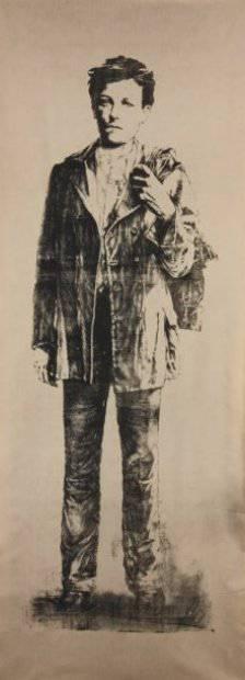 Ernest Pignon-Ernest - Arthur Rimbaud