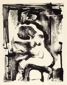Eva Hesse - Untitled (Nude), 1954
