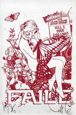 Faile - Butterfly Girl, 2006