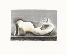 Henry Moore - Reclining Figure, 1974