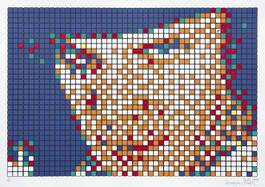 Invader - Alex, Rubik Kubrick, 2007