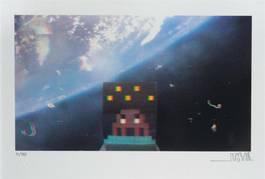 Invader - Art4space 3D, 2013