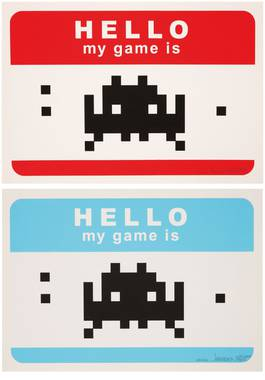 Invader - Hello my game is..., 2009