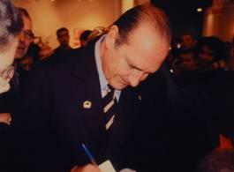 Invader - Invasion de Jacques Chirac, 2004