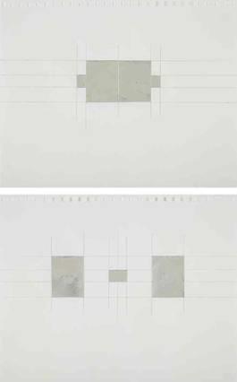 Jacob Kassay - Untitled, 2010
