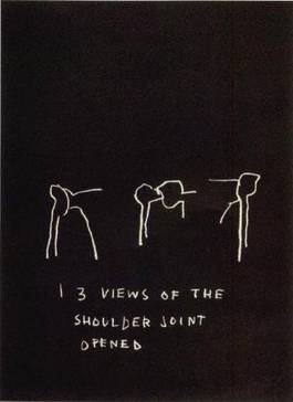 Jean-Michel Basquiat - 3 Views of the shoulder joint opened