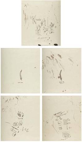 Jean-Michel Basquiat - After Leonardon, 1983