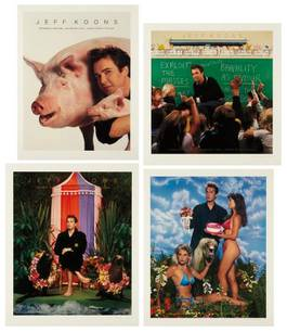Jeff Koons - Art Magazine Ads, 1989