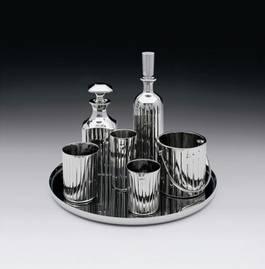 Jeff Koons - Baccarat Crystal Set, 1986