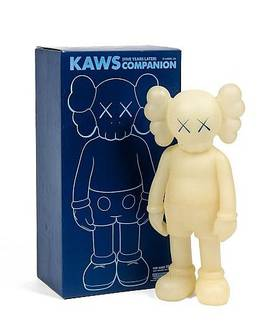 KAWS - (Five Years Later) Companion Green Glow in the Dark, 2004
