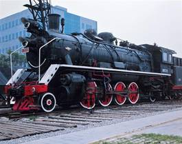 Liu Bolin - Camouflage, Locomotive, 2008