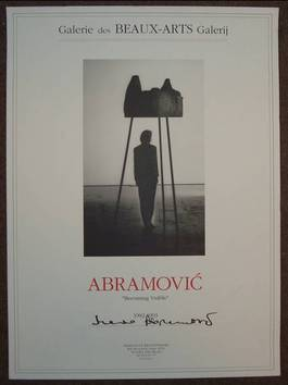 Marina Abramovic - Becoming Visible, 1992