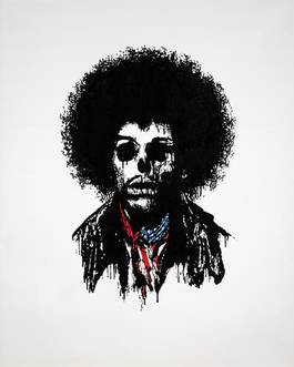 Paul Insect - Jimi Hendrix, from the Dead Rebel Series, 2006