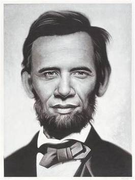 Ron English - Abraham Obama