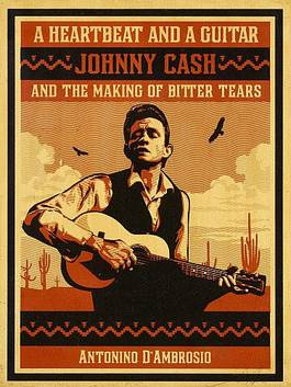 Shepard Fairey - A Heartbeat and a Guitar - Johnny Cash, 2009