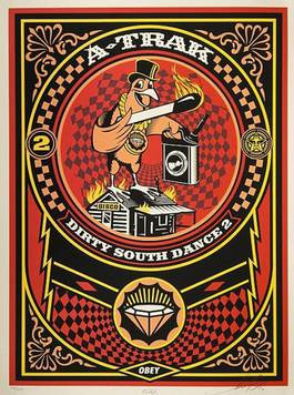 Shepard Fairey - A Trak - Dirty South Dance 2, 2010