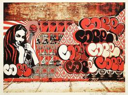 Shepard Fairey, COPE2 and Martha Cooper - Untitled, 2011