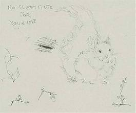 Tracey Emin - No Substitute For Your Love, 2003