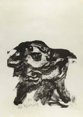 Willem de Kooning - Clam Digger, 1971